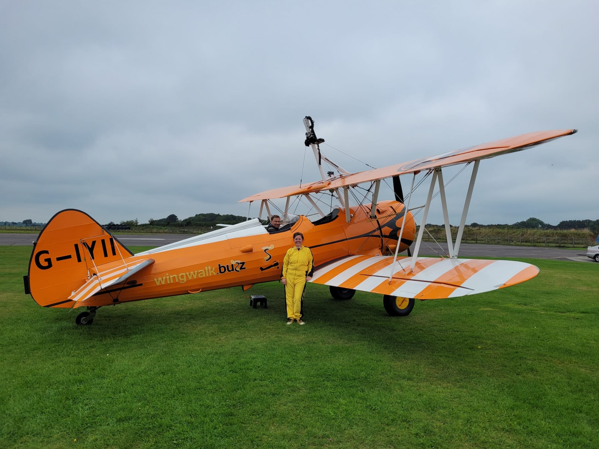 Lynsey took to the skies to support the DPT Charity