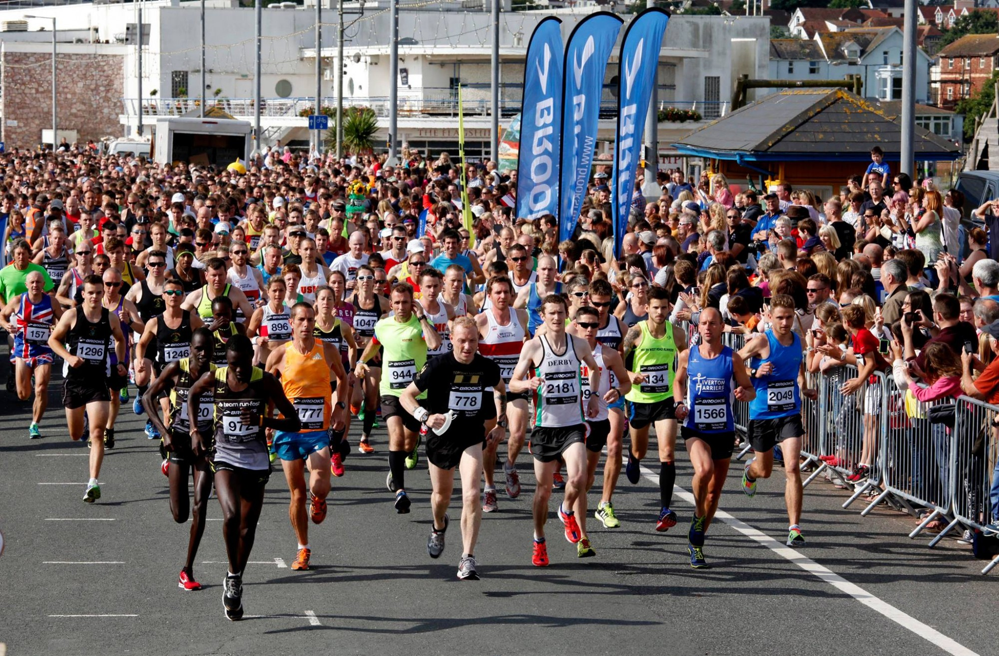 Torbay Half Marathon and 10k places to support our charity