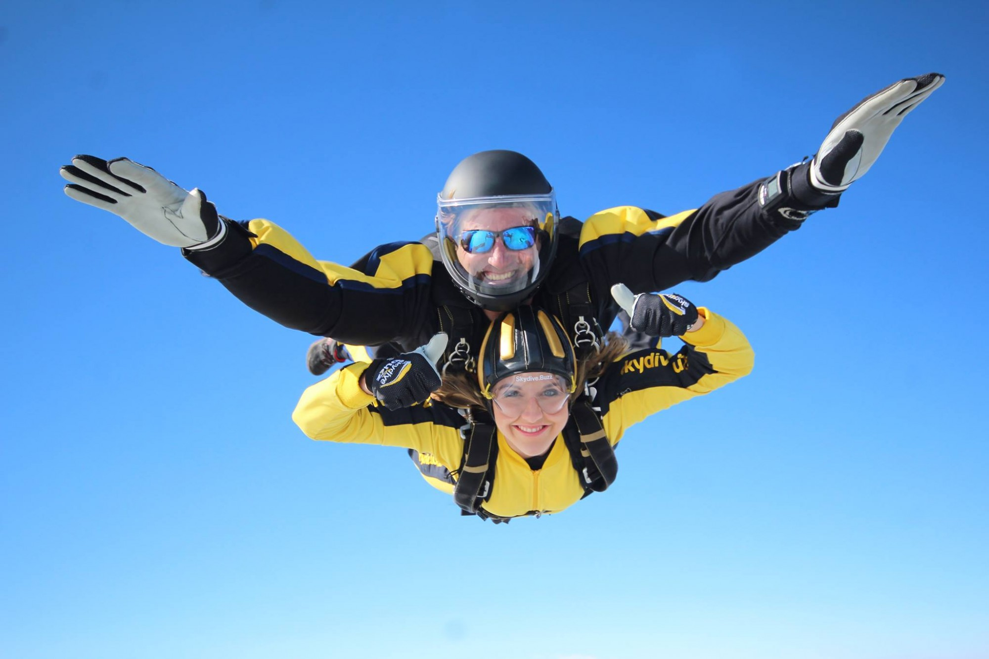 Skydiving to support the DPT Charity