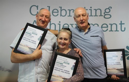 Celebrating Achievement Awards winners