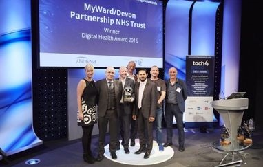 MyWard Tech4Good Award winner