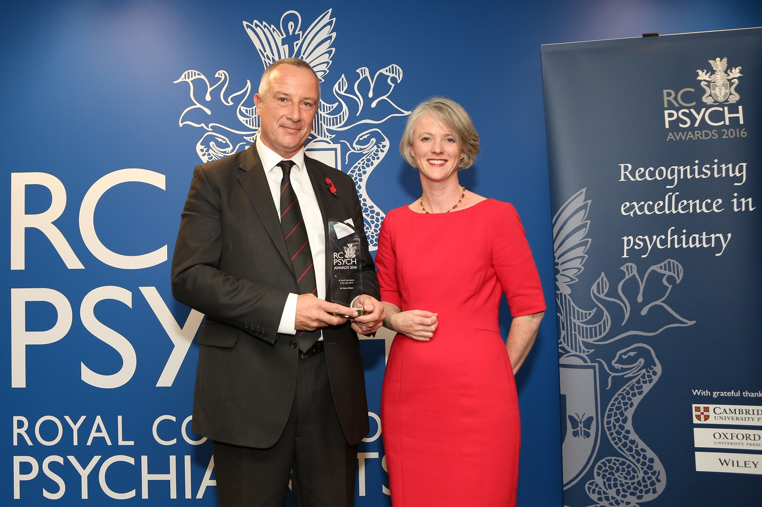Double winners at Royal College of Psychiatrists' Awards