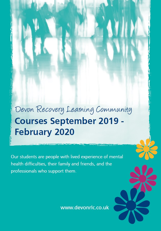 New prospectus for Devon Recovery Learning Community courses