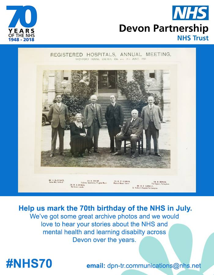 Help us celebrate the 70th birthday of the NHS