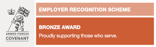 Armed Forces Covenant Employer Recognition Scheme Bronze Award Devon Partnership NHS Trust
