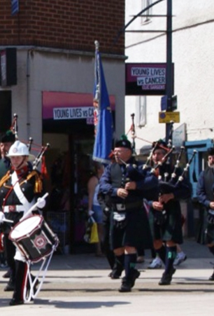 Charlie to lead pipe band during Armistice parade in Belgium