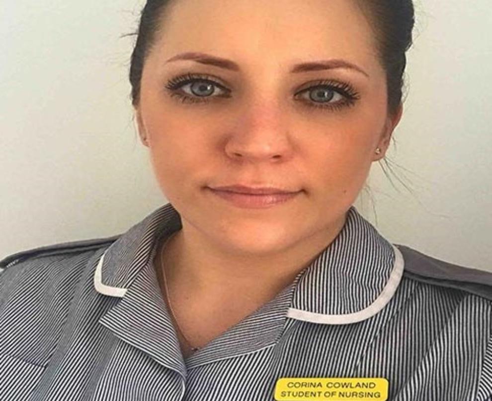 Corina Cowland shares her student nursing story