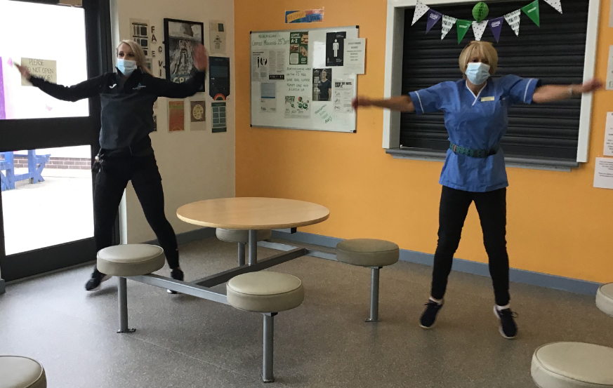 Langdon gets active for National Fitness Day