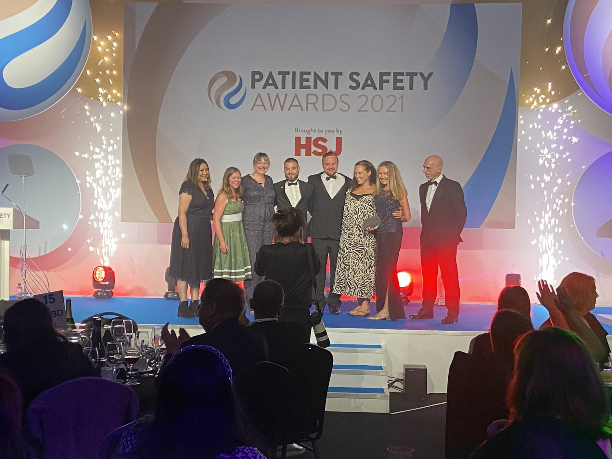 Winners at the HSJ Patient Safety Awards