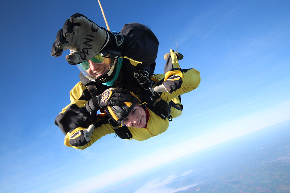 Skydiving this September to support our charity