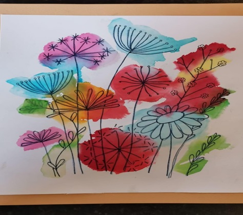 Learning Disability Service Art and Craft Competition winners
