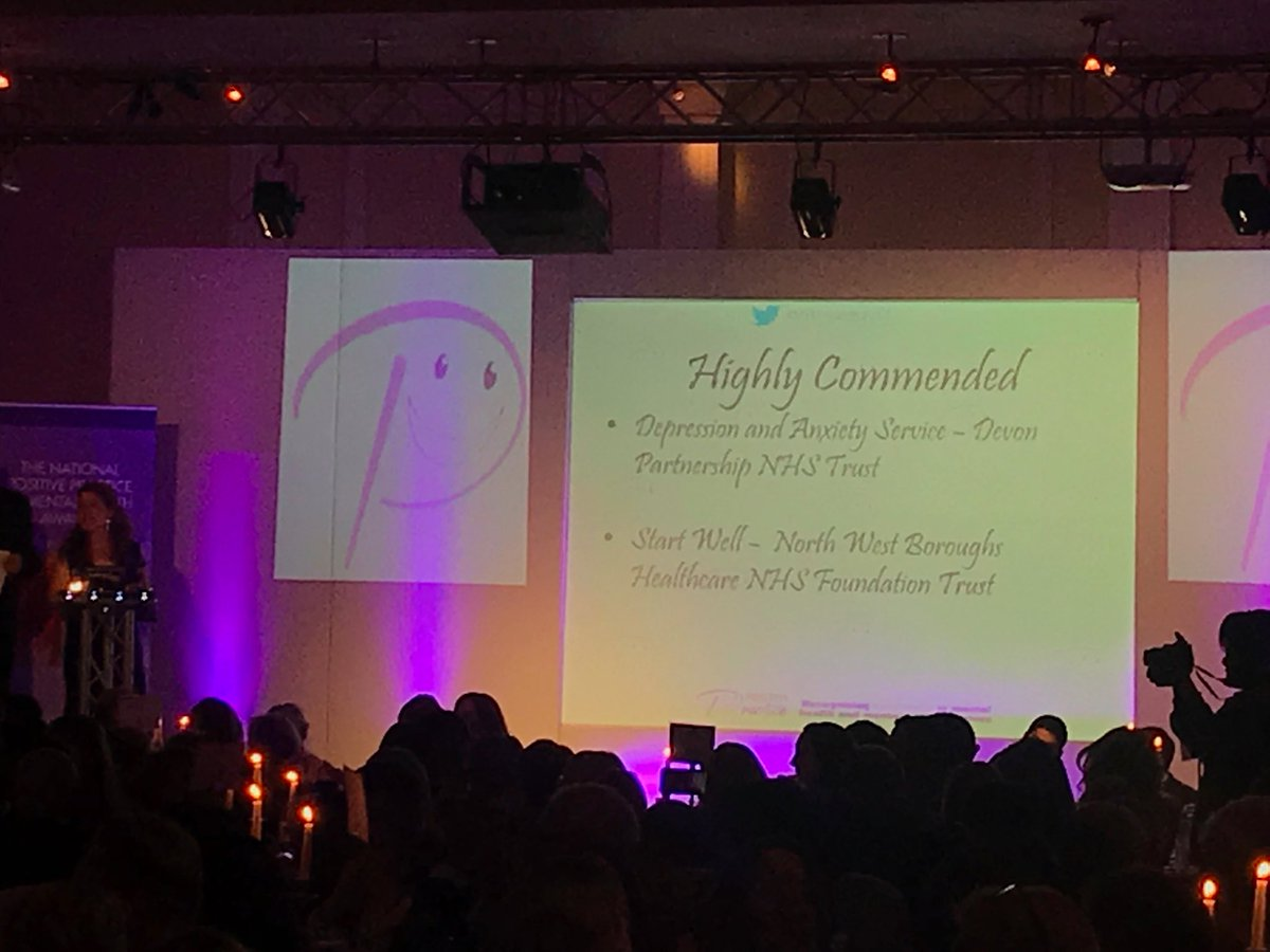 Highly Commended at the Positive Practice Mental Health Awards