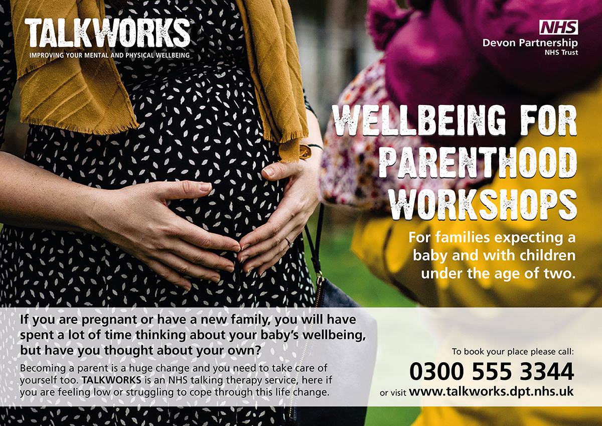 TALKWORKS Wellbeing for Parenthood workshops