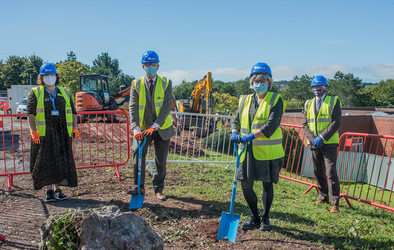 Construction of new Torbay ward under way