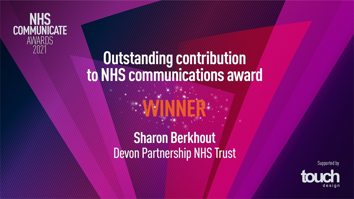 NHS Communicate Outstanding Contribution award