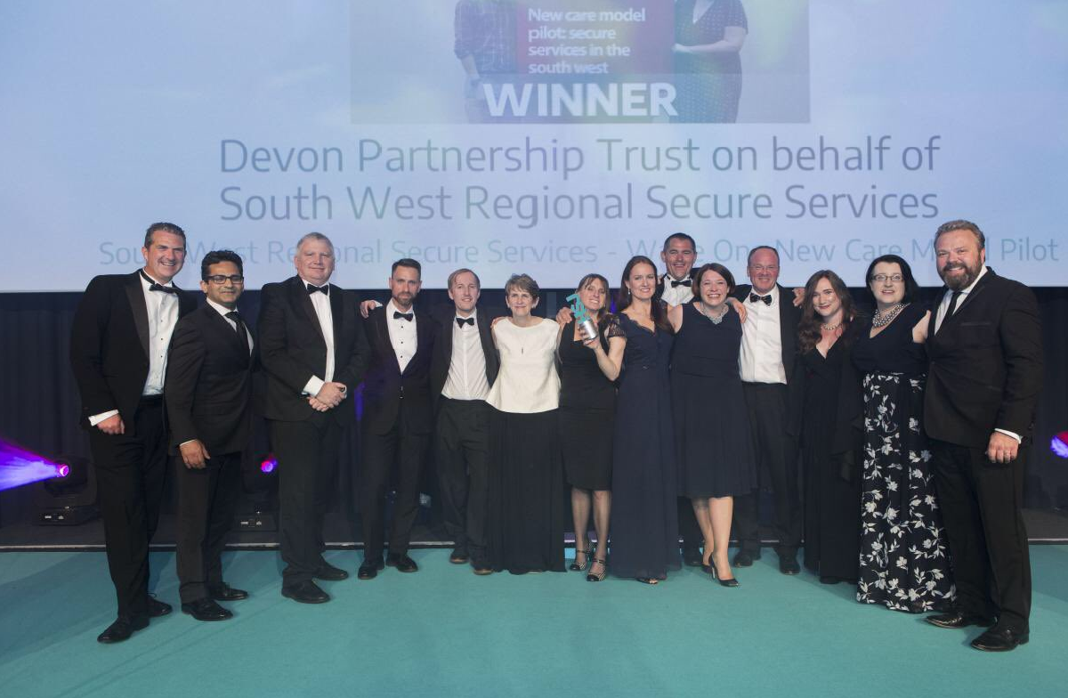 Secure Service New Care Model wins at HSJ Awards