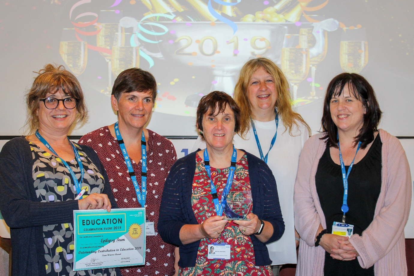 Learning Disability nurses receive 'Outstanding Contribution to Education' awards