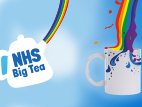 Take part in the NHS Big Tea today