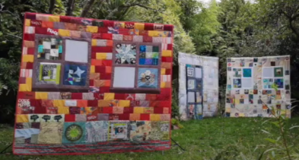 DRLC students contribute to Quarantine Quilt project