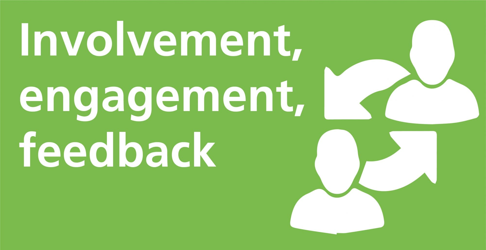 Involvement, engagement, feedback