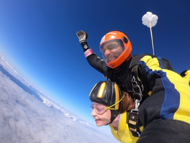 Take part in our 2020 Charity skydive